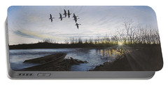 Morning Retreat - Pintails Portable Battery Charger