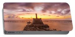 Morning Scene In Nusa Penida Beach Portable Battery Charger
