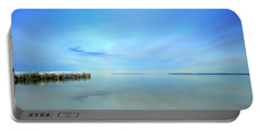 Morning Sky Reflections Portable Battery Charger