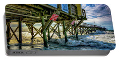 Morning Sun Under The Pier Portable Battery Charger
