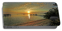 Portable Battery Charger featuring the photograph Mornings Embrace by HH Photography of Florida