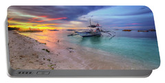 Portable Battery Charger featuring the photograph Morningtide 2.0 by Yhun Suarez