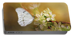 Morpho Luna  Portable Battery Charger by Eva Lechner