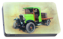 Portable Battery Charger featuring the photograph Morris by Keith Hawley