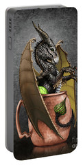 Portable Battery Charger featuring the digital art Moscow Mule Dragon by Stanley Morrison
