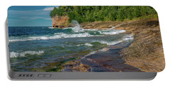 Mosquito Harbor Waves  Portable Battery Charger