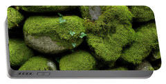 Portable Battery Charger featuring the photograph Moss And Ivy by Mike Eingle