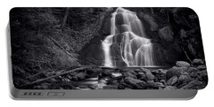 Moss Glen Falls - Monochrome Portable Battery Charger