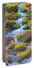 Mossy Stepping Stones Portable Battery Charger
