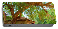 Mossy Tree In Natchez Portable Battery Charger