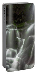Mossy Waterfall Portable Battery Charger