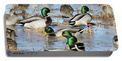 Mostly Mallards Portable Battery Charger