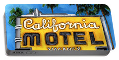 Motel California Portable Battery Charger
