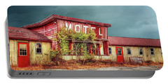 Motel Portable Battery Charger by Mary Timman