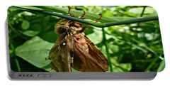 Moth At Rest Portable Battery Charger