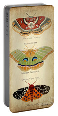 Moth Study Portable Battery Charger