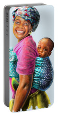 Mother And Child Portable Battery Charger
