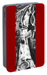 Portable Battery Charger featuring the painting Mother by Carol Rashawnna Williams