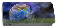 Mother Earth Series Plate4 Portable Battery Charger