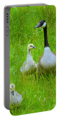 Portable Battery Charger featuring the photograph Mother Goose by Sean Griffin