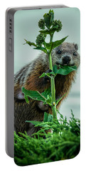 Mother Groundhog Fine Dining Portable Battery Charger