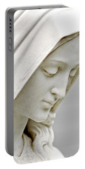 Mother Mary Comes To Me... Portable Battery Charger by Greg Fortier