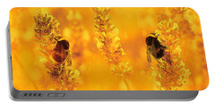 Portable Battery Charger featuring the digital art Mother Nature At Work    by Fine Art By Andrew David