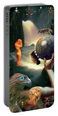 Portable Battery Charger featuring the photograph Mother Nature by Craig J Satterlee
