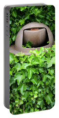 Mother Nature Most Always Wins Portable Battery Charger by Mary Lee Dereske