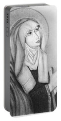 Mother Of Sorrows Version1 Portable Battery Charger