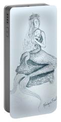 Motherhood Mermaid Portable Battery Charger