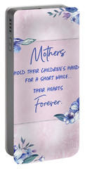 Mothers And Their Children Portable Battery Charger