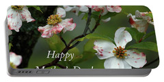 Portable Battery Charger featuring the photograph Mother's Day Dogwood by Douglas Stucky