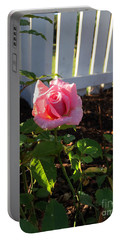 Mothers Day Rose Portable Battery Charger