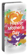 Mother's Day Roses- Art By Linda Woods Portable Battery Charger by Linda Woods