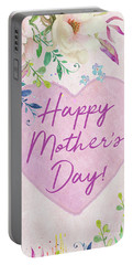 Mother's Day Wishes Portable Battery Charger
