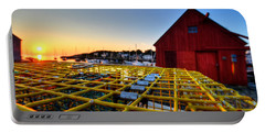 Motif 1 Lobster Trap Sunrise Portable Battery Charger
