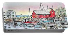 Motif #1 Rockport, Massachusetts Portable Battery Charger