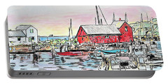 Motif #1 Rockport, Massachusetts Portable Battery Charger
