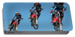 Motocross Riders Portable Battery Charger