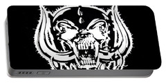 Motorhead Portable Battery Charger by Gina Dsgn
