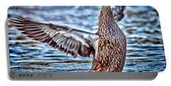 Mottled Duck Takeoff Portable Battery Charger