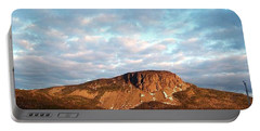 Mottled Sky Of Late Spring Portable Battery Charger by Barbara Griffin