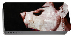 Moulin Rouge - Nicole Kidman Portable Battery Charger by Sir Josef - Social Critic -  Maha Art