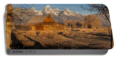Portable Battery Charger featuring the photograph Moulton Barn by Gary Lengyel