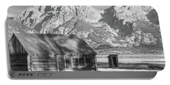 Portable Battery Charger featuring the photograph Moulton Homestead - Bunkhouse by Colleen Coccia