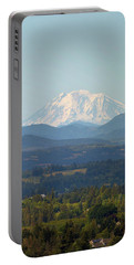 Mount Adams In Washington State Portable Battery Charger