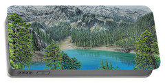 Mount Baker Wilderness Portable Battery Charger by Jane Girardot