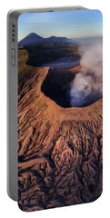 Portable Battery Charger featuring the photograph Mount Bromo At Sunrise by Pradeep Raja Prints