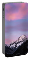 Mount Cook Sunset Portable Battery Charger